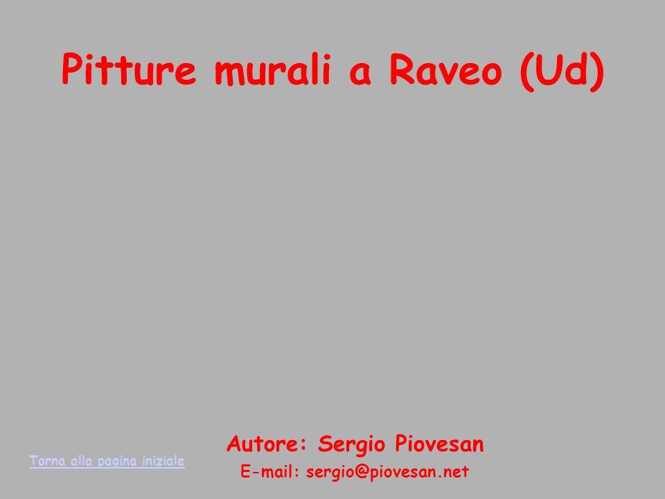 Pitture murali a Raveo (Ud)
