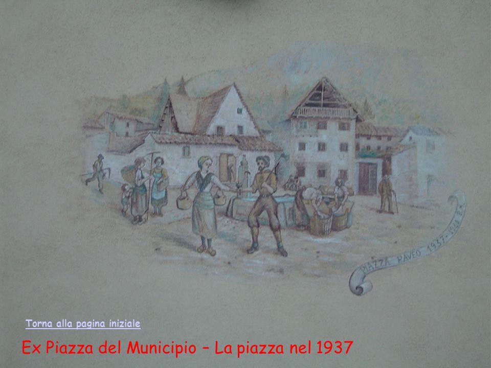 Ex Piazza del Municipio – La piazza nel 1937