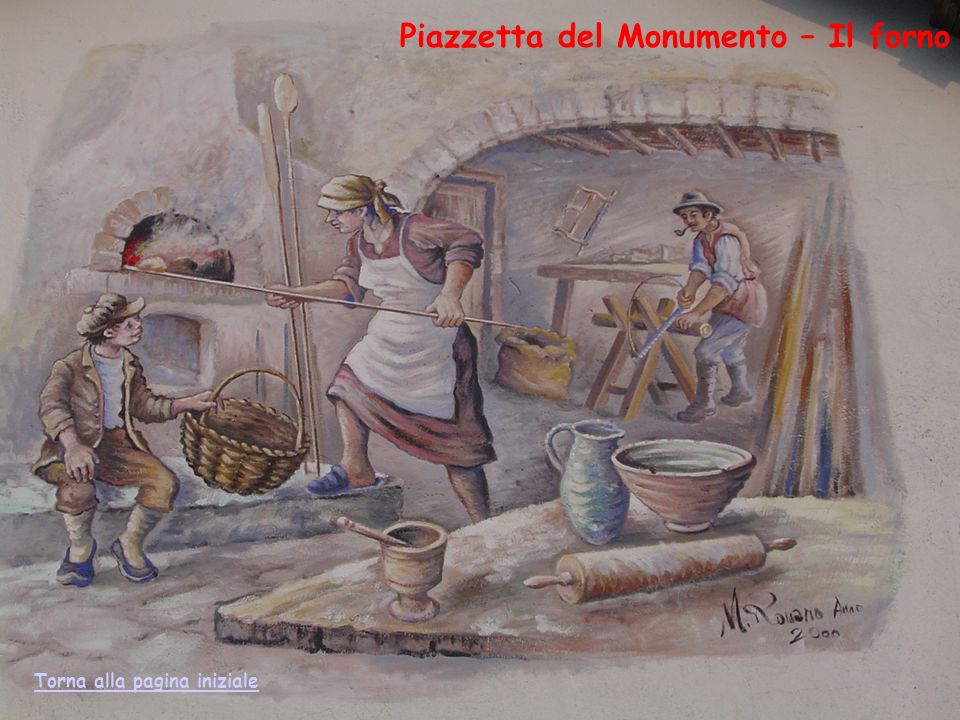 Piazzetta del Monumento – Il forno