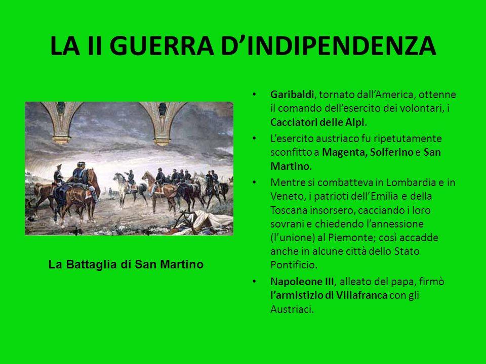 LA II GUERRA D'INDIPENDENZA