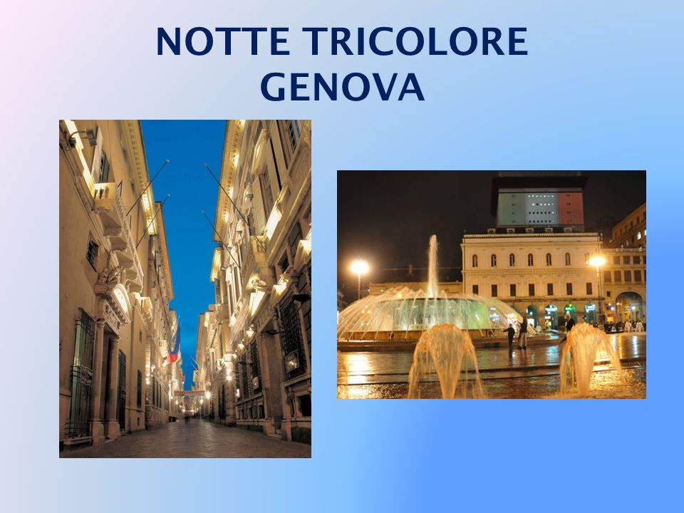 NOTTE TRICOLORE GENOVA