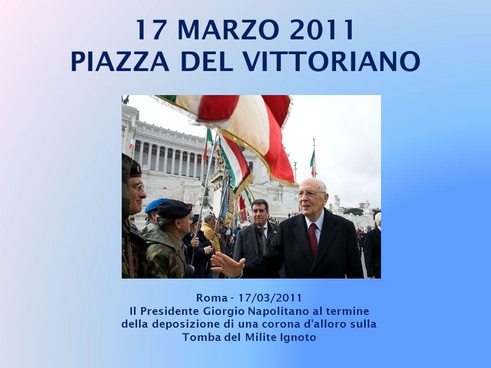 17 MARZO 2011 PIAZZA DEL VITTORIANO