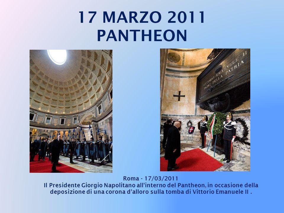 17 MARZO 2011 PANTHEON Roma - 17/03/2011
