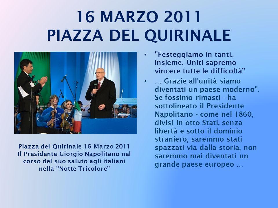 16 MARZO 2011 PIAZZA DEL QUIRINALE