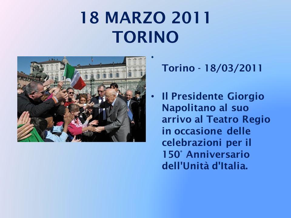 18 MARZO 2011 TORINO Torino - 18/03/2011.