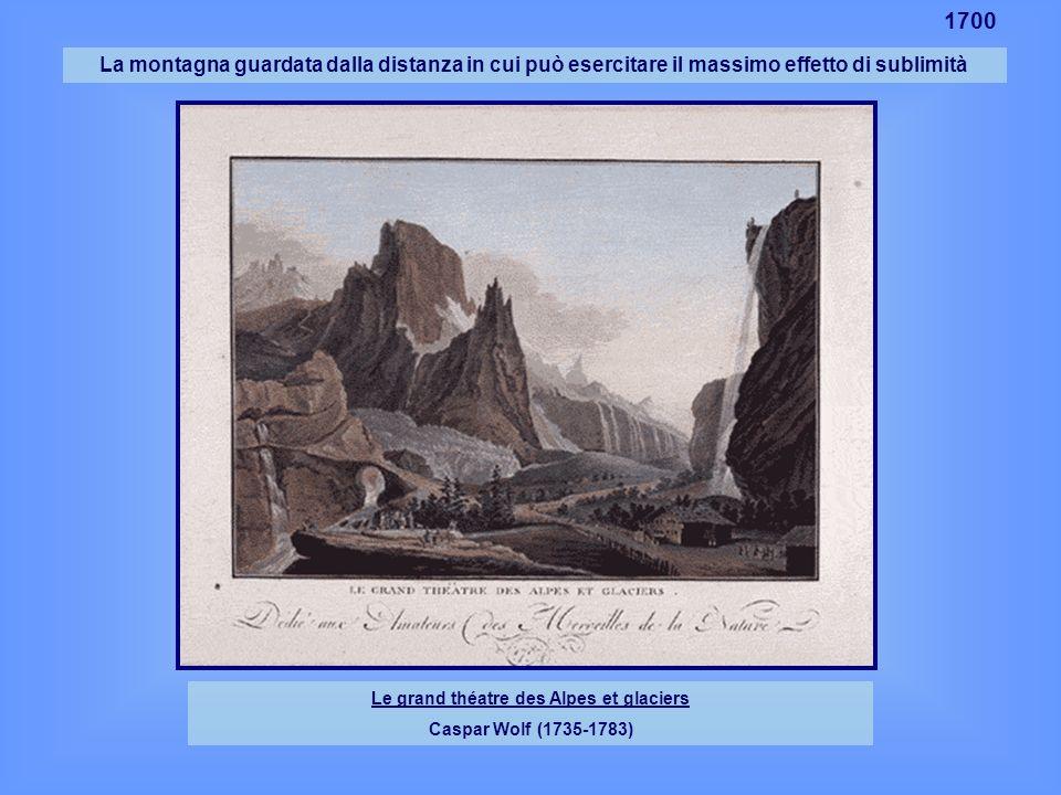 Le grand théatre des Alpes et glaciers