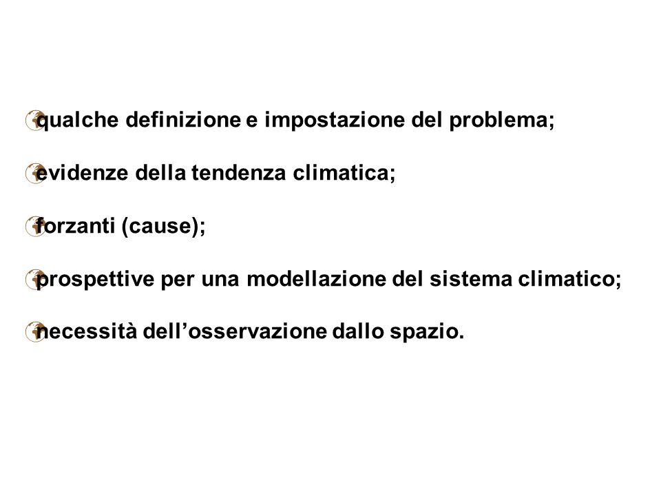 qualche definizione e impostazione del problema;