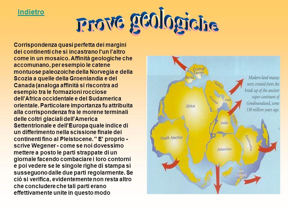 Prove geologiche Indietro