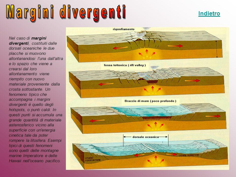 Margini divergenti Indietro