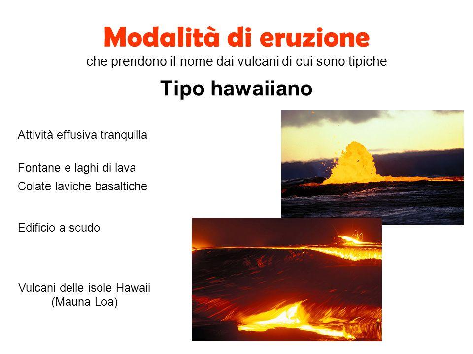 Vulcani delle isole Hawaii