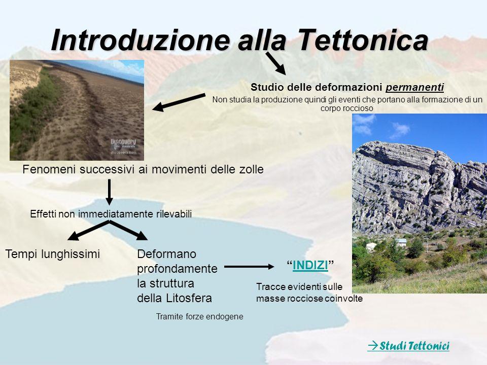 Introduzione alla Tettonica