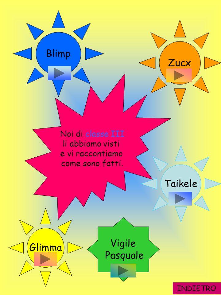 Blimp Zucx Taikele Glimma Vigile Pasquale Noi di classe III
