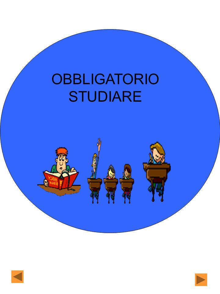 OBBLIGATORIO STUDIARE
