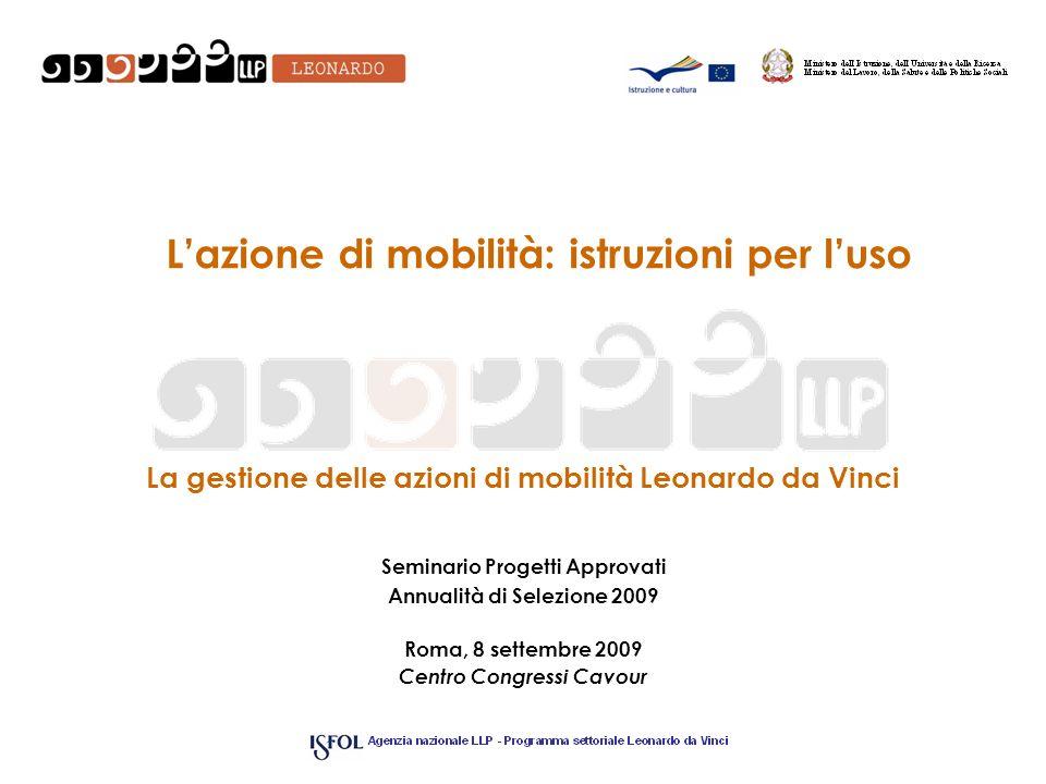 L'azione di mobilità: istruzioni per l'uso