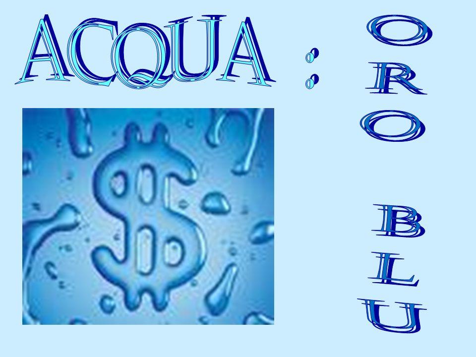 ACQUA : oro blu