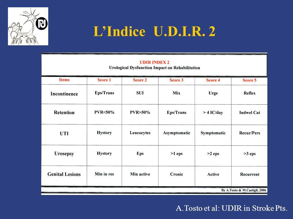 L'Indice U.D.I.R. 2 A.Tosto et al: UDIR in Stroke Pts.