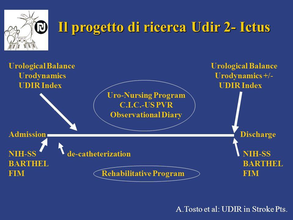 Il progetto di ricerca Udir 2- Ictus
