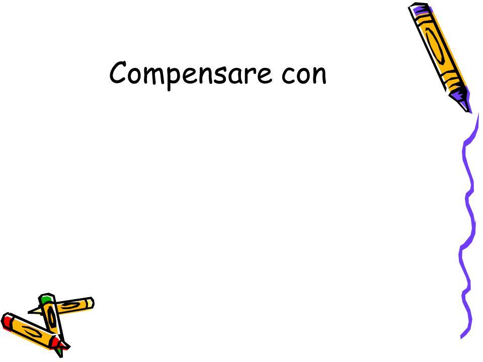 Compensare con