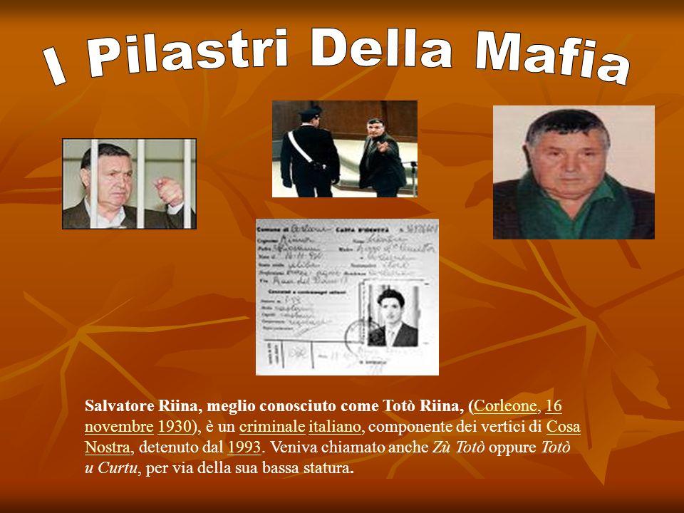 I Pilastri Della Mafia