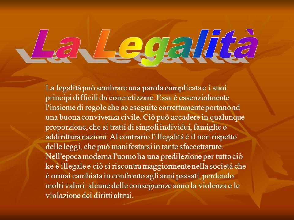 La Legalità