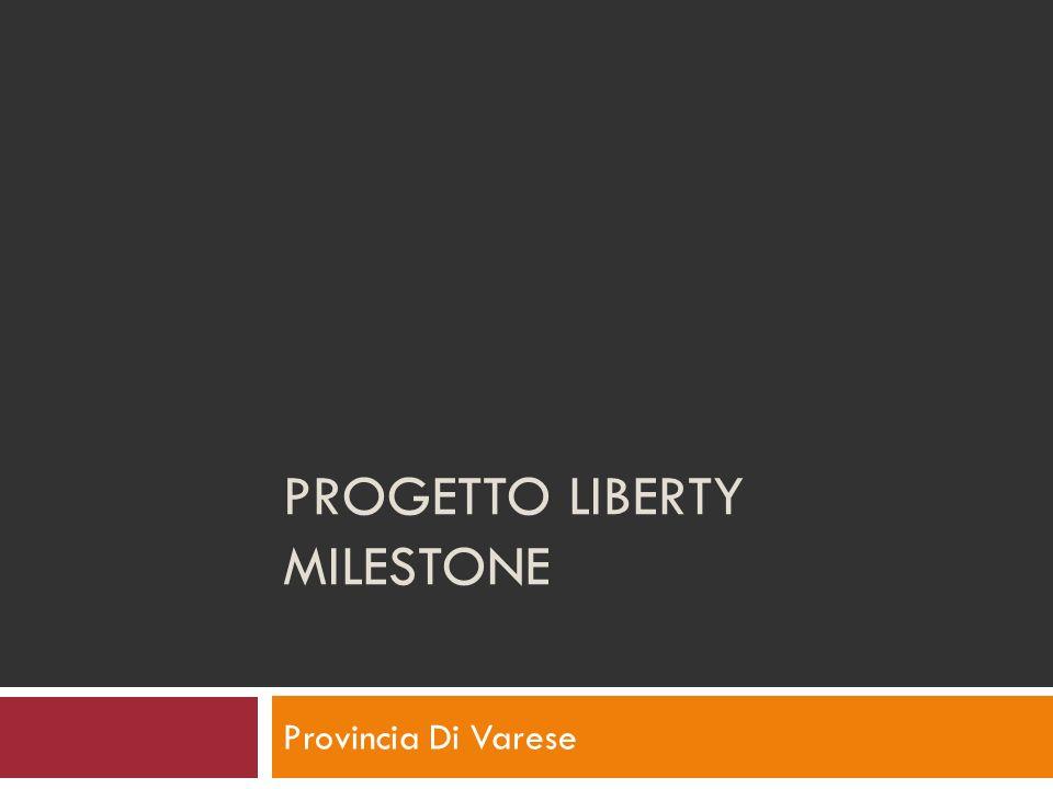 PROGETTO LIBERTY MILESTONE