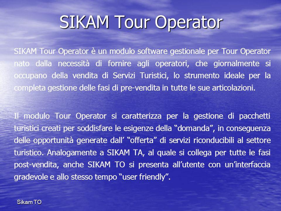 Sikam TSIKAM Tour Operator.