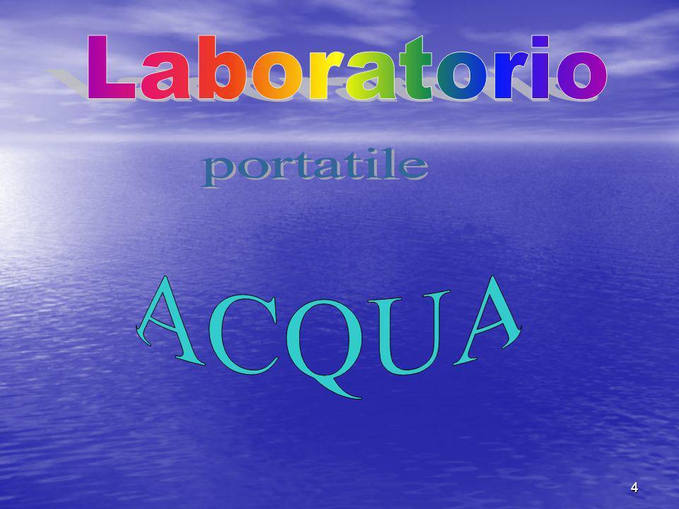 Laboratorio portatile ACQUA