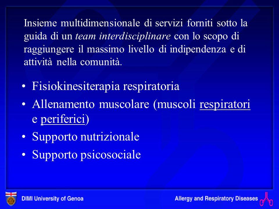 Fisiokinesiterapia respiratoria