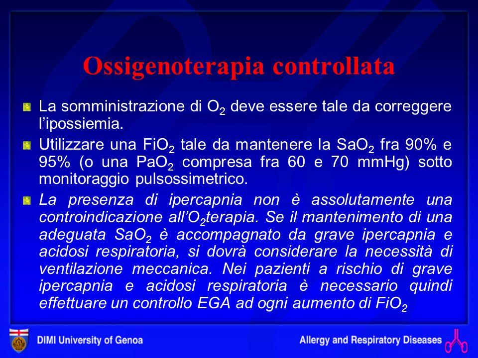 Ossigenoterapia controllata