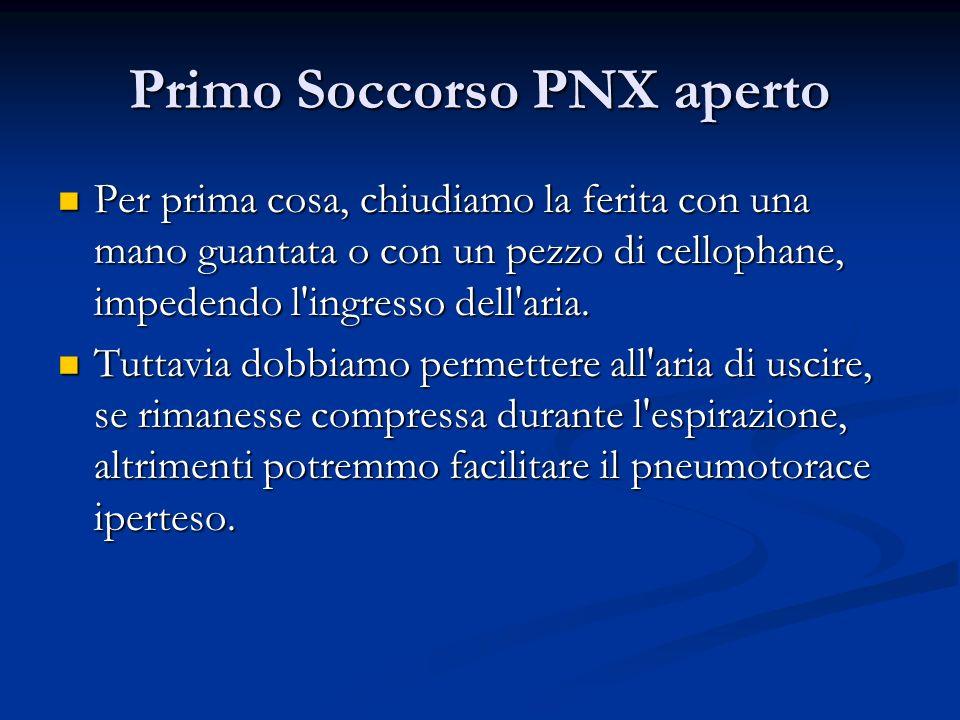 Primo Soccorso PNX aperto