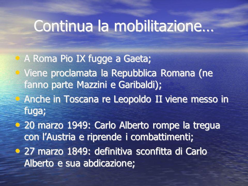 Continua la mobilitazione…