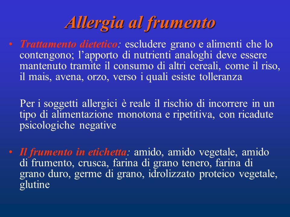 Allergia al frumento