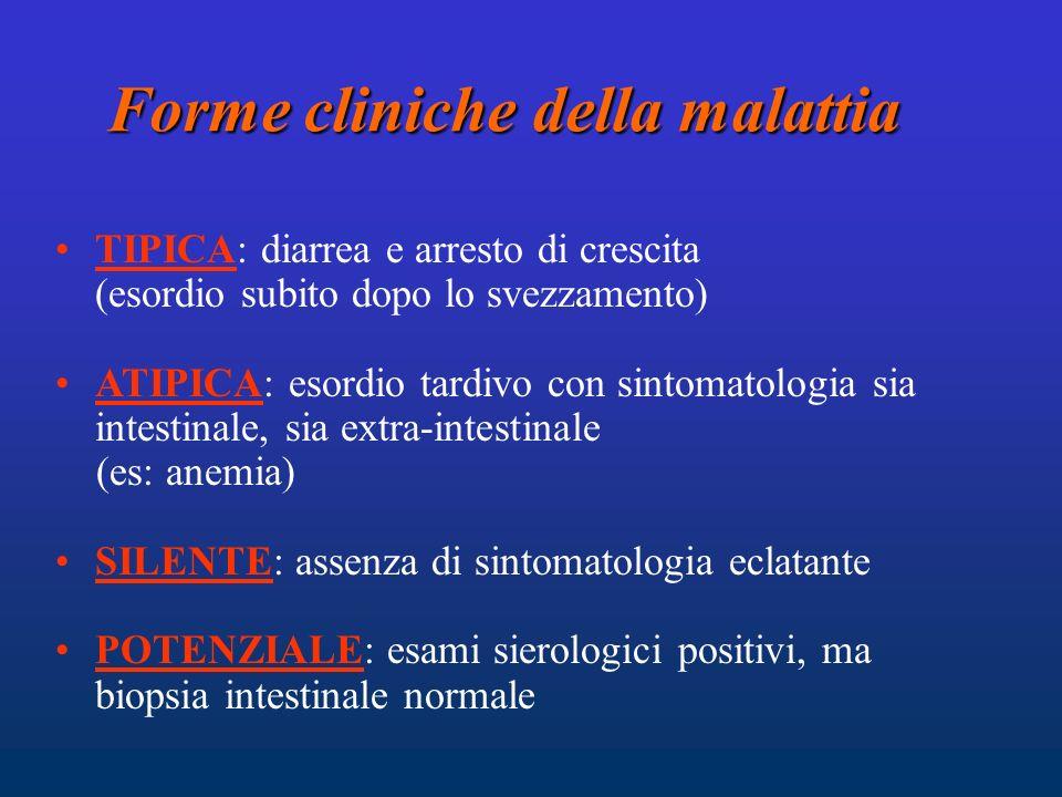 Forme cliniche della malattia