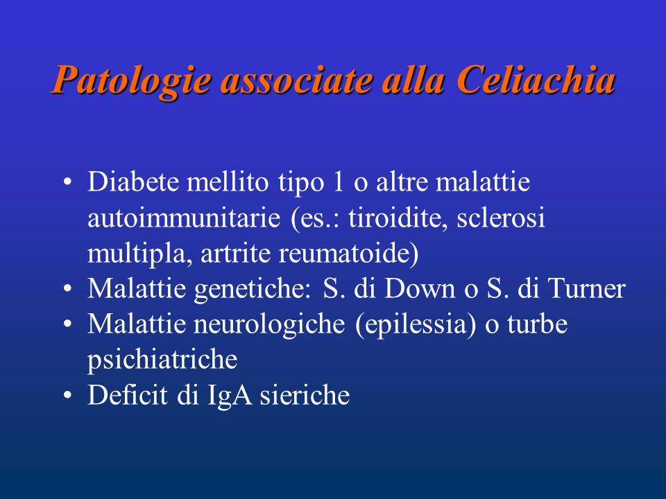 Patologie associate alla Celiachia