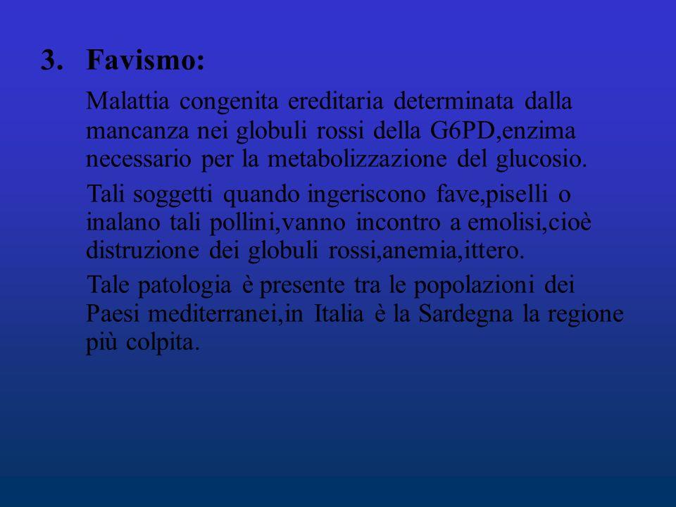 Favismo: