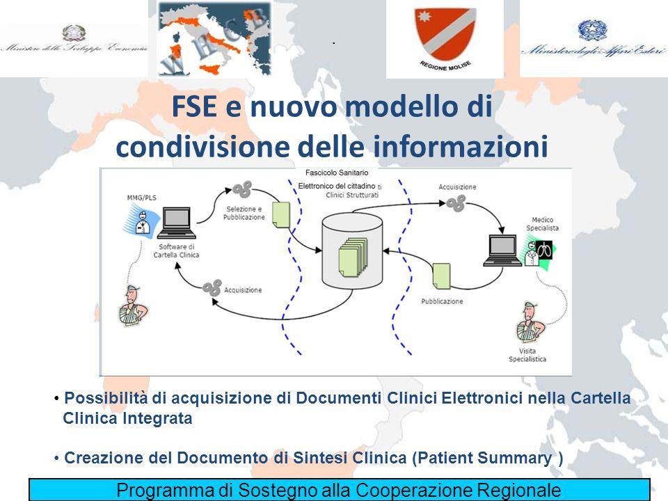 FSE e nuovo modello di condivisione delle informazioni