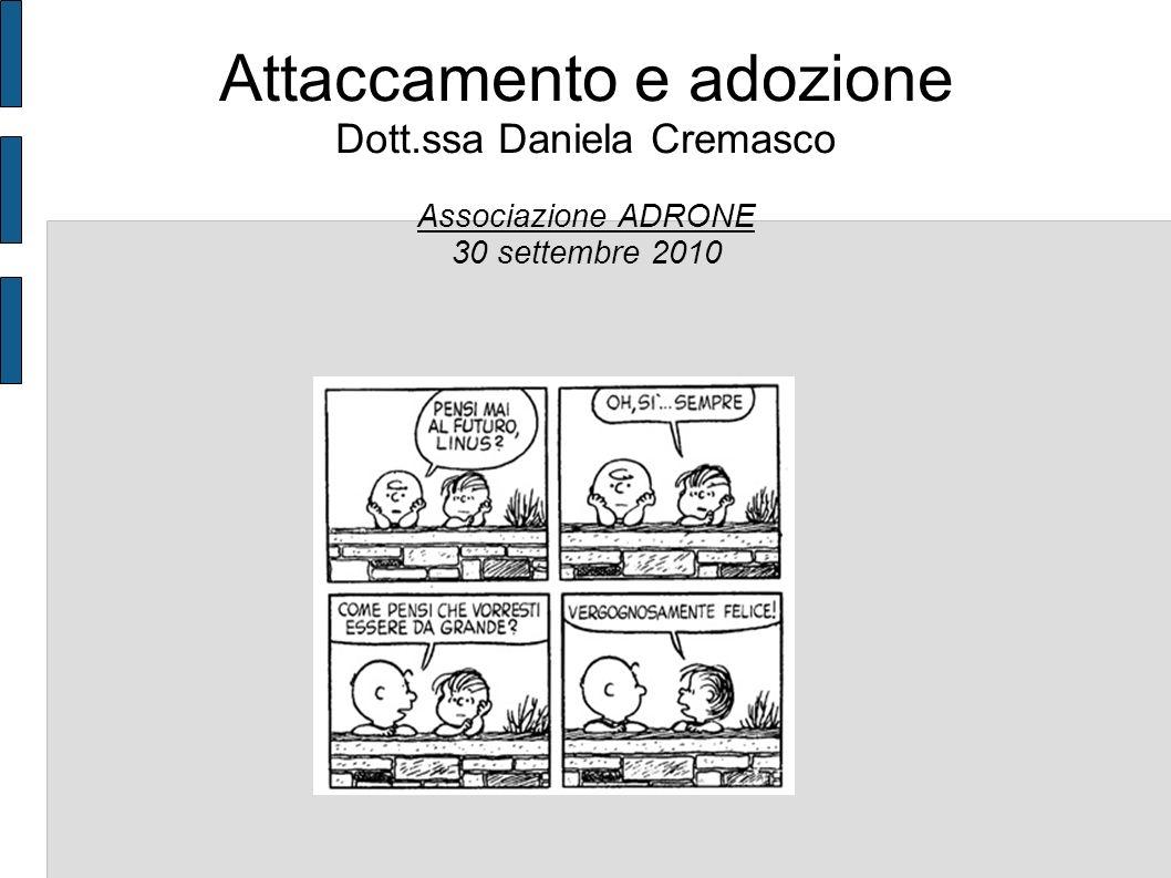 Attaccamento e adozione Dott