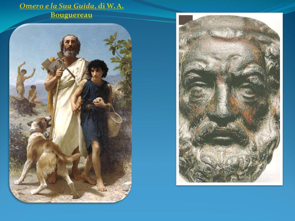 Omero e la Sua Guida, di W. A. Bouguereau