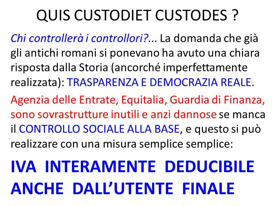 QUIS CUSTODIET CUSTODES