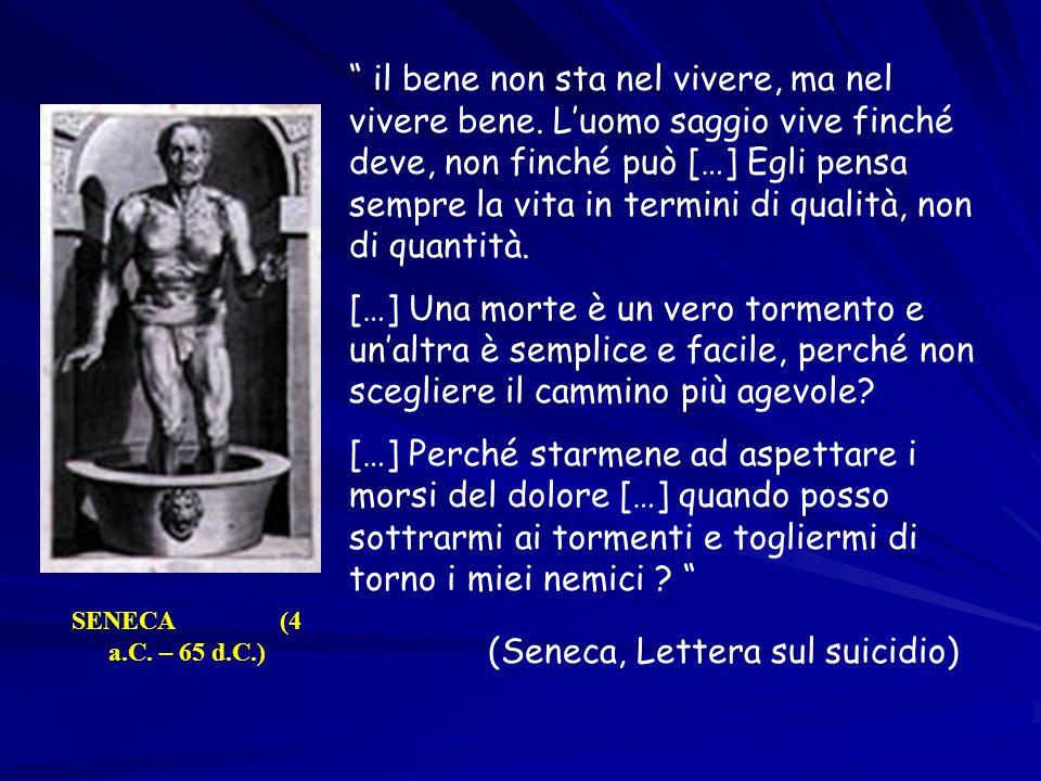 (Seneca, Lettera sul suicidio)