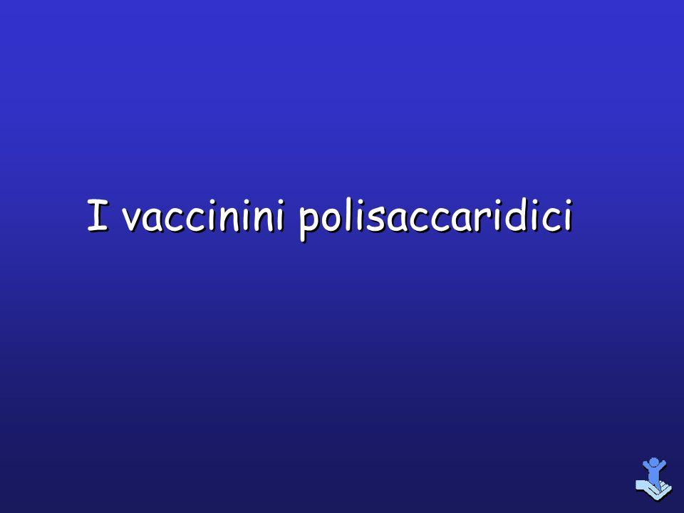I vaccinini polisaccaridici