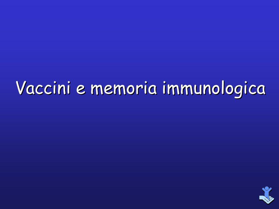 Vaccini e memoria immunologica