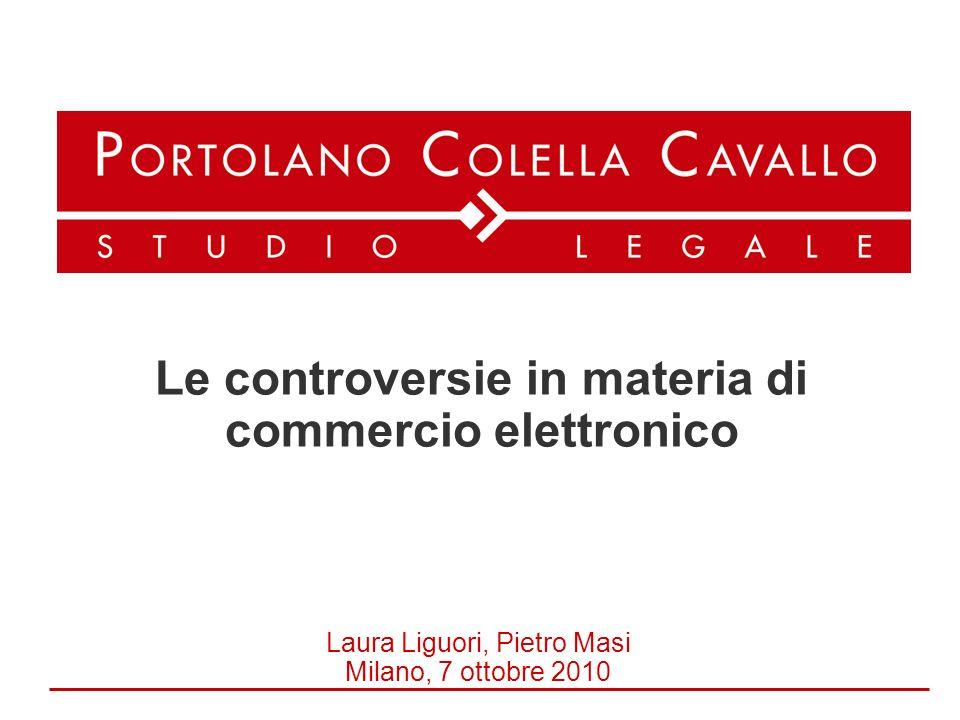 Laura Liguori, Pietro Masi Milano, 7 ottobre 2010