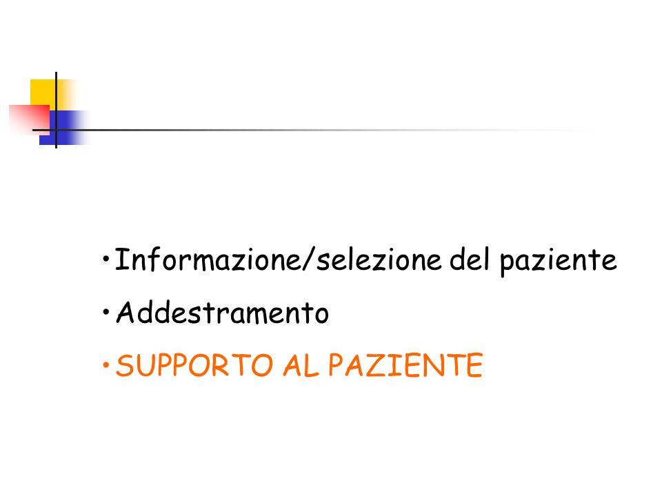 Informazione/selezione del paziente