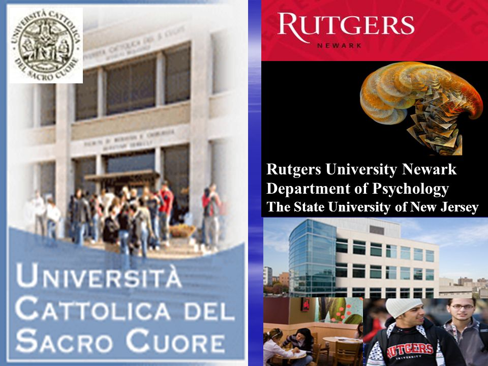 Rutgers University Newark Department of Psychology