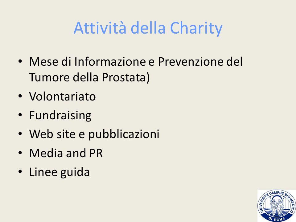 Attività della Charity
