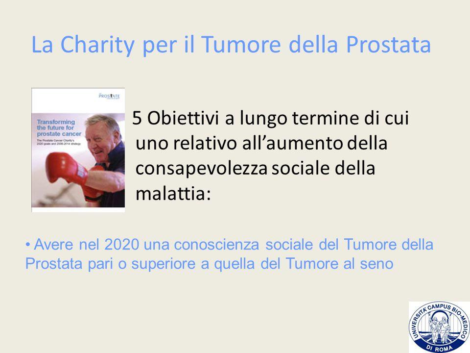 La Charity per il Tumore della Prostata