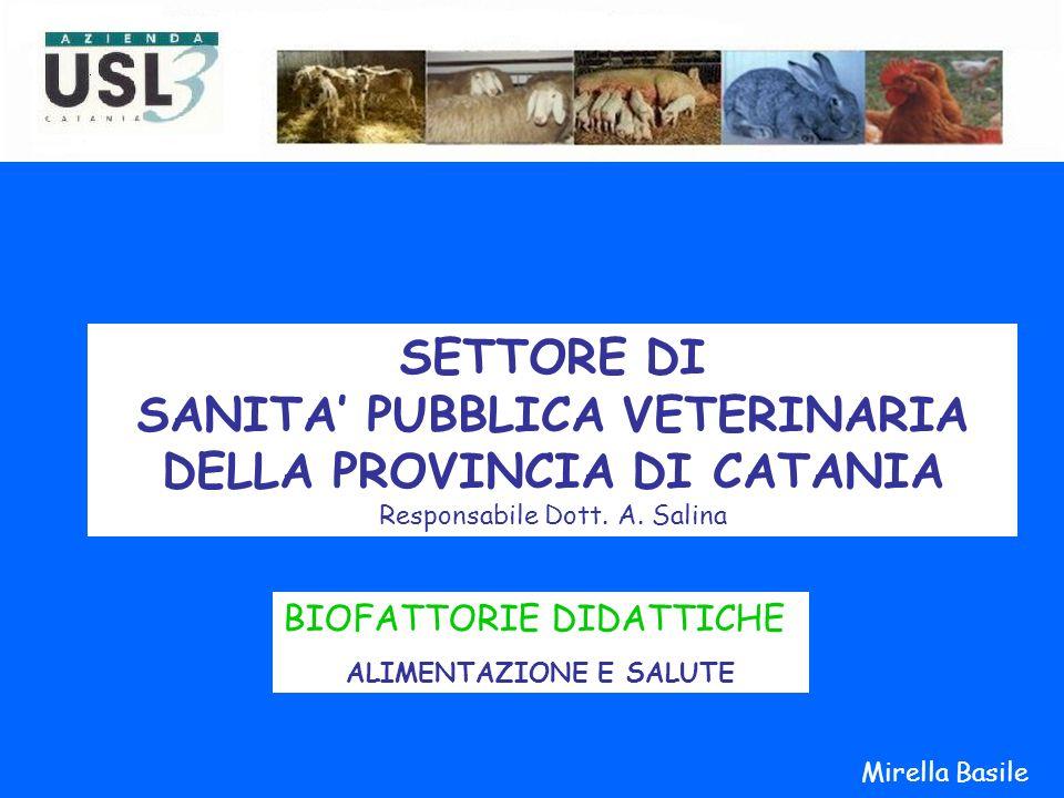 SANITA' PUBBLICA VETERINARIA DELLA PROVINCIA DI CATANIA