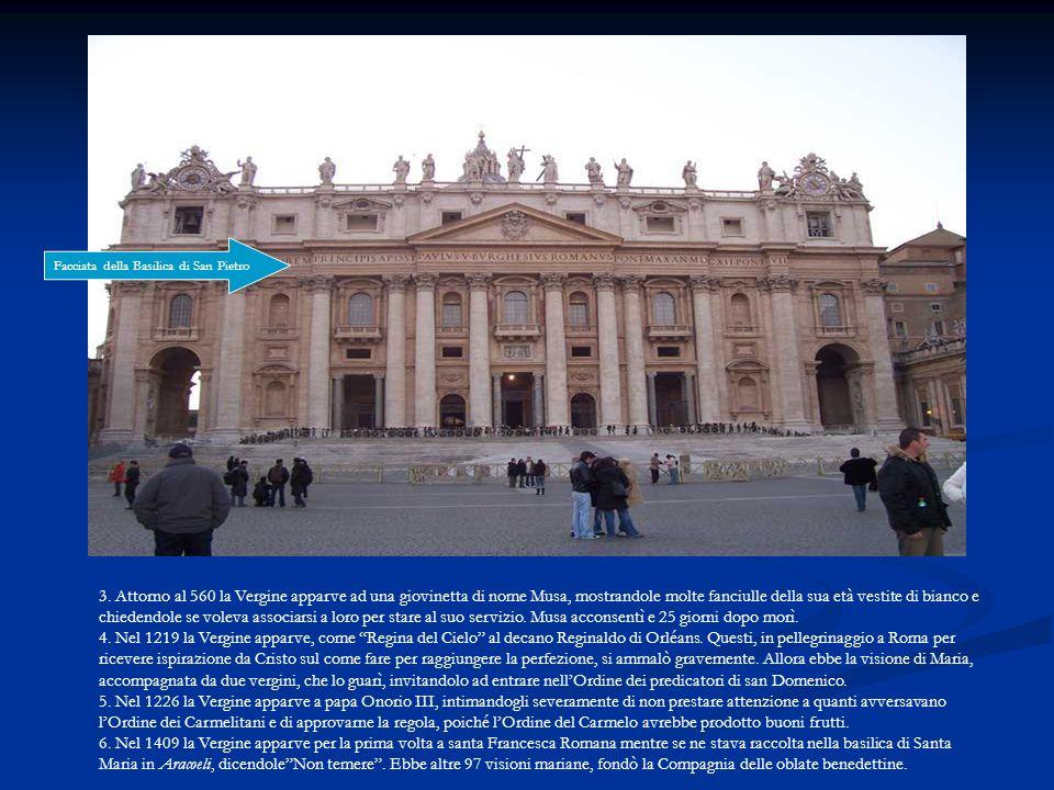 Facciata della Basilica di San Pietro