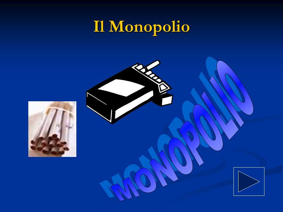 Il Monopolio MONOPOLIO
